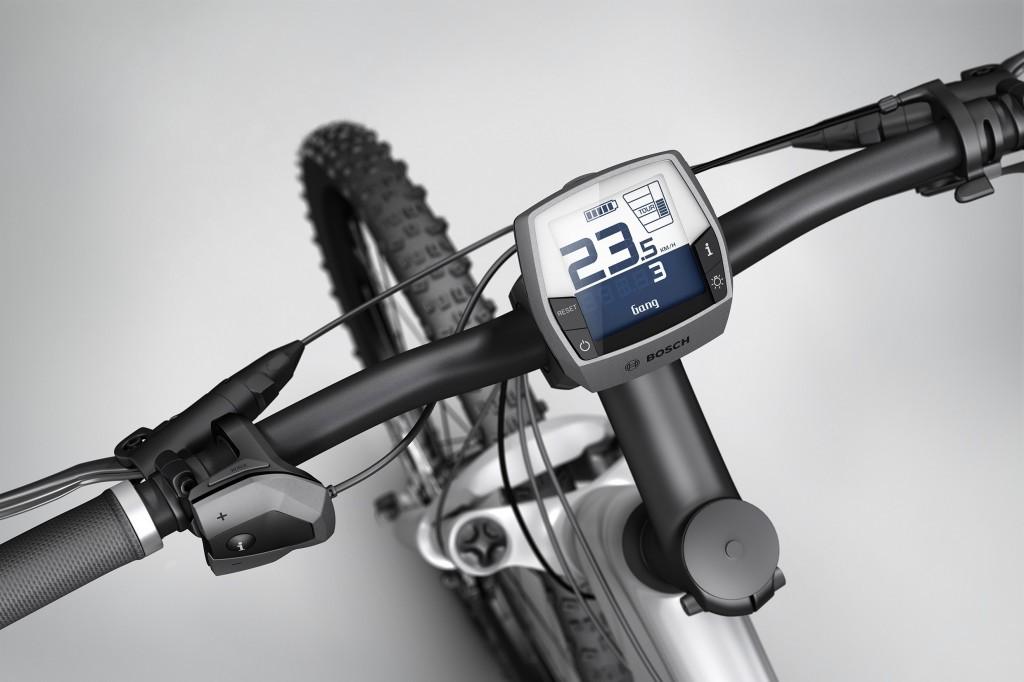 Bosch Intuvia mit integrierter SRAM Schaltung - Bild: Bosch