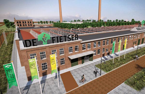 "Customer Experience center ""De Fietser"" Bild: ACCELL Niederlande"