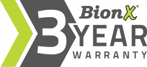 BionX 3-Year Warranty Logo--Black and White