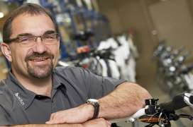 Mitbegründer von biketec AG Kurt Schär | Bild: Biketec AG