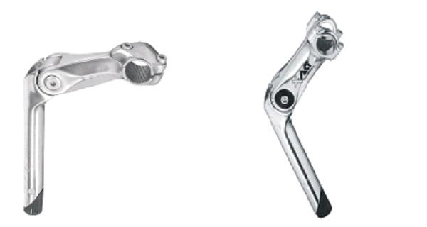 link: Vorbau Original, rechts: neuer Vorbau | Bild: HAWK Bikes