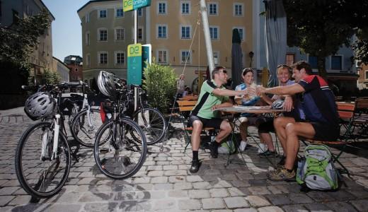 bike-energy Ladestation Beispiel Altstadt