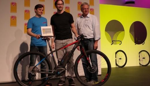 CUBE Eurobike Gold Award Vorschau