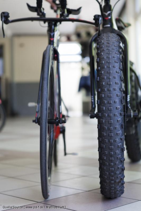 Fatbike Reifenvergleich