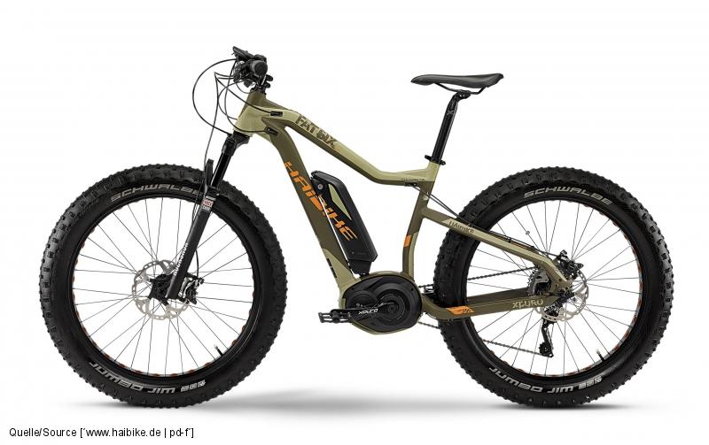 Haibike Fatbike FatSix E-Bike Bosch
