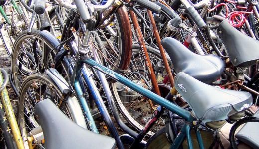 Fahrradparkplatz Holland Amsterdam