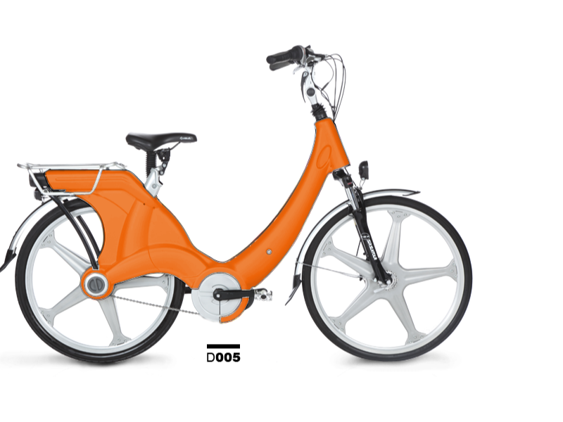 Carter eBike Orange