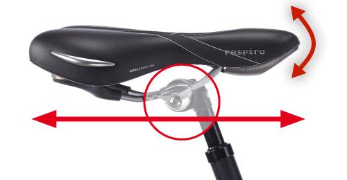 Ergonomieberatung Radfahrer Sattelverstellung