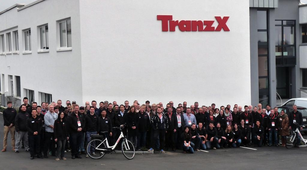 TranzX Partner Event Gruppenbild 2014