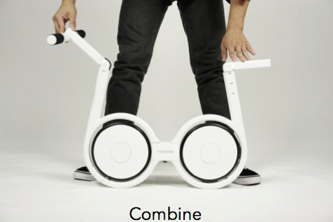 Impossible Technology eBike combine