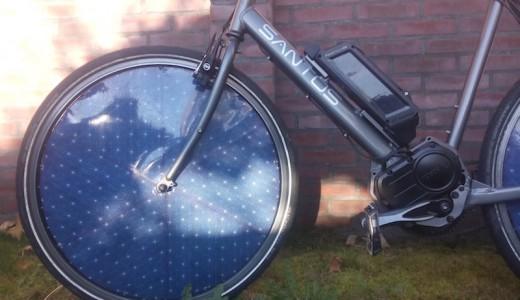 Solar eBike Vorderrad