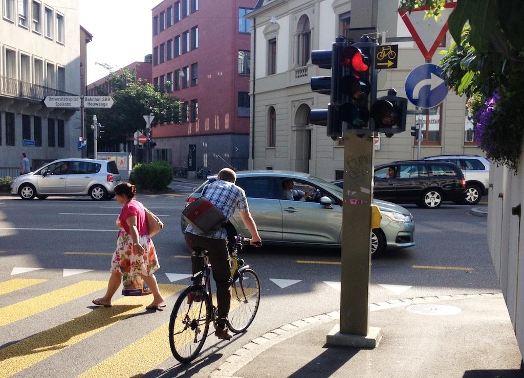 Pilotstudie fahrradfreundliche lsa Basel