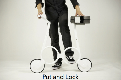 Impossible Technology eBike put and lock