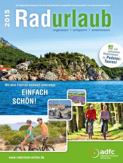 Broschüre ADFC Radurlaub 2015