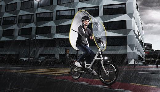 dryve Regenschutz Fahrrad vorschau