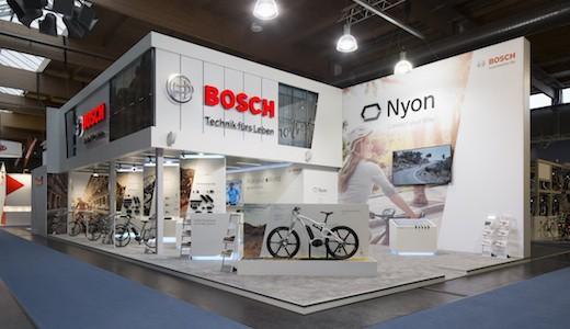 Vorschau Bosch eBike systems Messestand