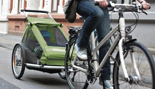 Vorschau Fahrrad Kinderanhänger
