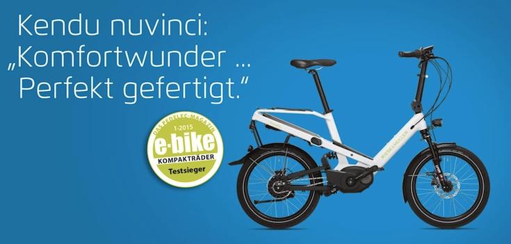 Kendu Testieger Kompakt e-bike