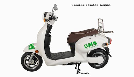 Vorschau Kumpan Electro Scooter LVM