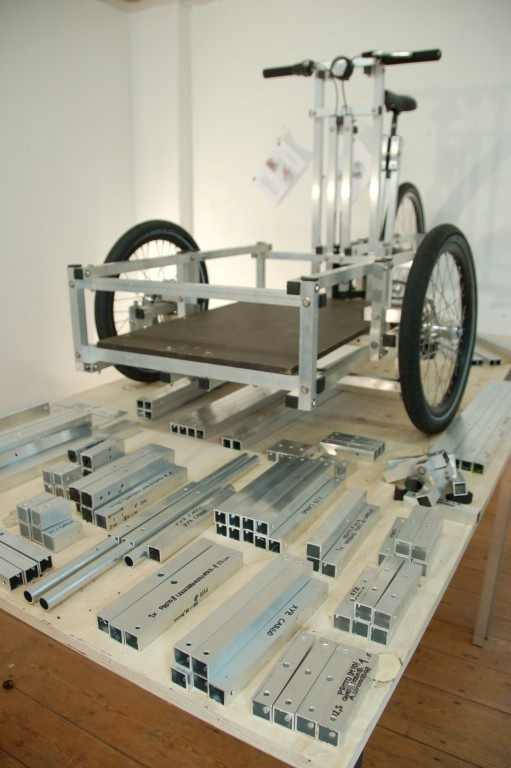 Lastenrad - XYZ Cargo Trike Einzelteile