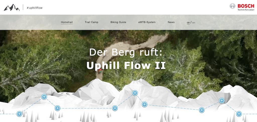Bosch uphill flow webseite
