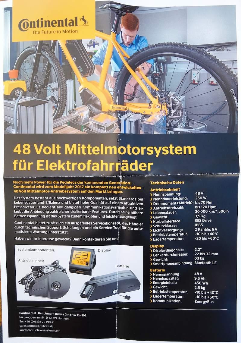 Conti Flyer 48 Volt eBike Antrieb web