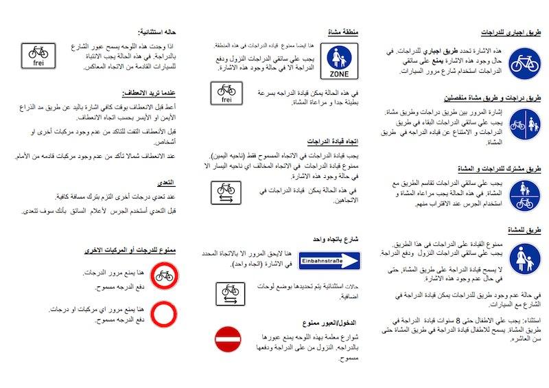 Führerschein Auf Arabisch In Deutschland