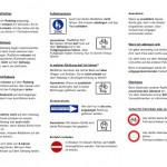 Verkehrsregeln für Radfahrer deutsch