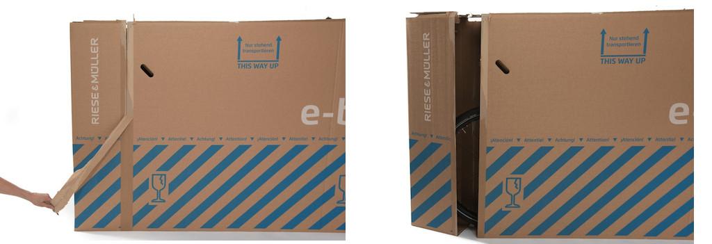 Riese und Müller Fahrrad-Transportkarton
