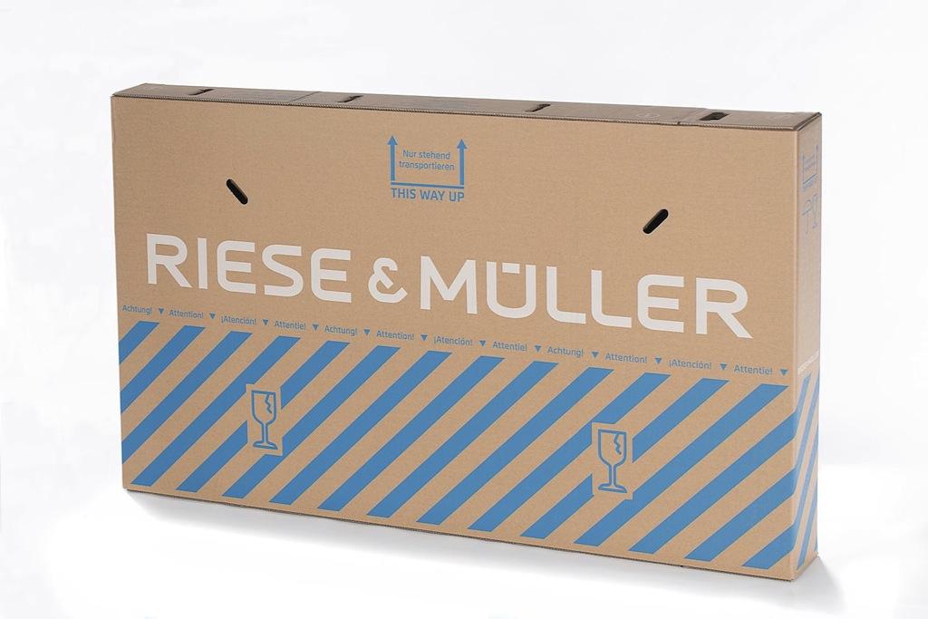 Riese und Müller Versandkarton