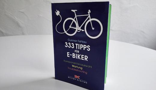 Vorschau Buch 333 Tipps für E-Biker