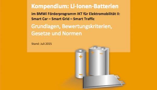 Vorschau Kompendium Li-Ionen Batterien