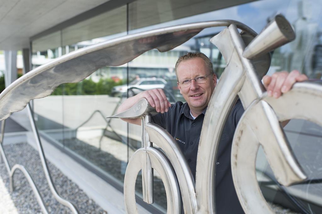 CEO Biketec Simon Lehmann