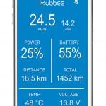 eBike Nachrüstsatz Rubbee App Android