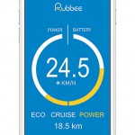 eBike Nachrüstsatz Rubbee App iPhone