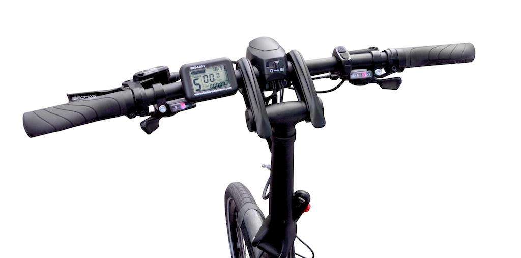 Tern eCargo Node - Lenker - elektrisches Lasten-Faltrad
