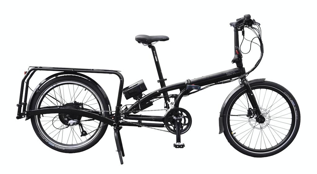 Tern eCargo Node - elektrisches Lasten-Faltrad