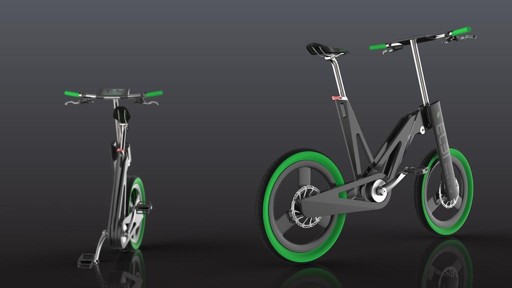 Elbi elektrisches Faltrad 01