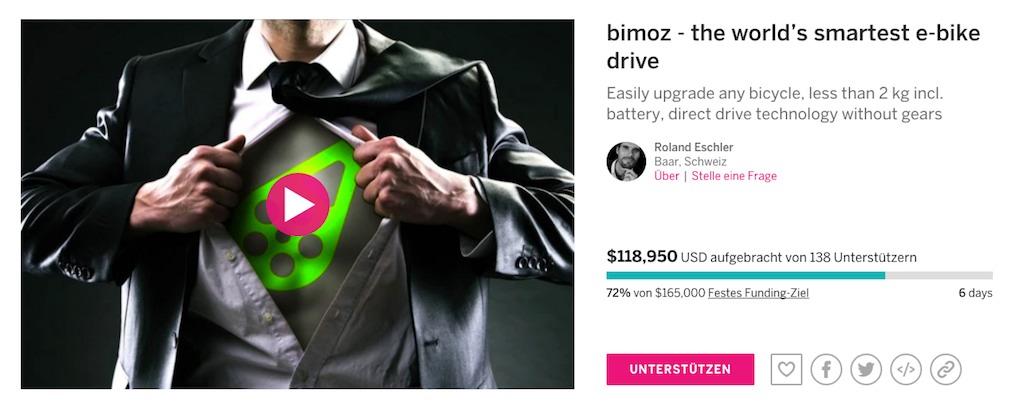 bimoz kampagne indiegogo Stand 2016-05-10