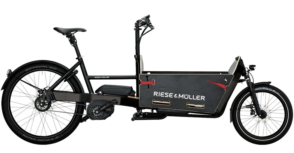 Riese und Müller Packster NuVinci DualBattery 2017