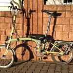 Velospeeder Fahrradmotor am Brompton 01