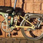 Velospeeder Fahrradmotor am Brompton 02
