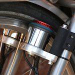 Velospeeder Fahrradmotor am Brompton 03
