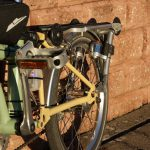 Velospeeder Fahrradmotor am Brompton 04