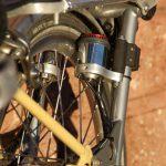 Velospeeder Fahrradmotor am Brompton 05