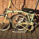 Velospeeder Fahrradmotor am Brompton 06