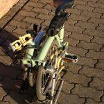 Velospeeder Fahrradmotor am Brompton 07