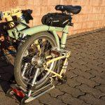 Velospeeder Fahrradmotor am Brompton 08