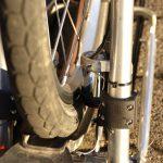 Velospeeder Fahrradmotor am Brompton 09