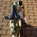 Velospeeder Fahrradmotor am Brompton 10